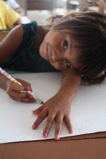 Young Girl in Guyana